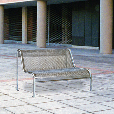 Perforated metal Plate Bench C-8 icon image